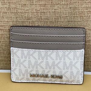 NWT Michael Kors Slim Card Holder Small Wallet